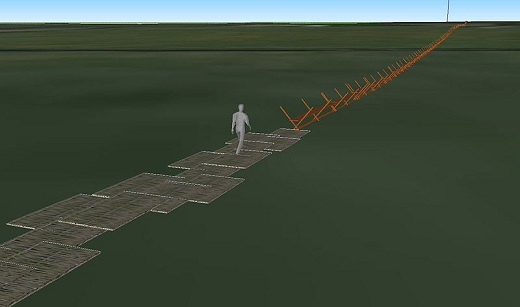 A reconstruction of the Neolithic Sweet Track