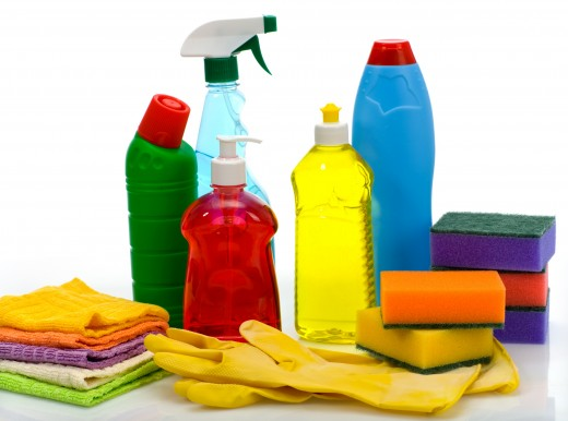 Don't forget to clean and sanitize your home!