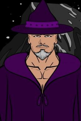 Old Man Reg the Purple