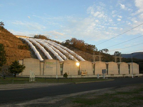 Tumut - Hydro Electric Station, Snowy Hydro Project