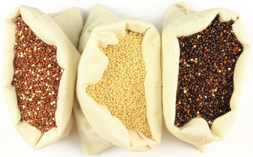 Red, white, and black quinoa seeds are the most popular grown, harvested and eaten today.