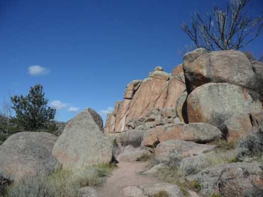 Pharoh's Head at Vedauwoo