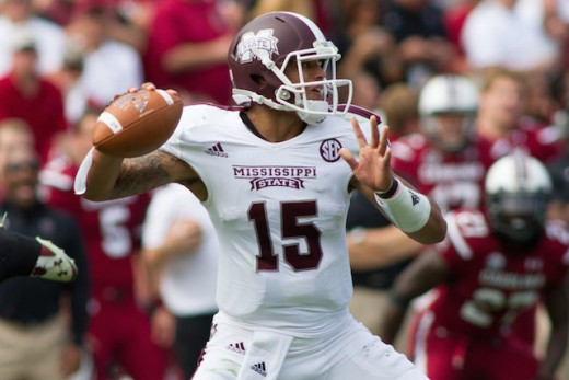 Dak Prescott has the Dawgs in the national title picture and his name in the Heisman running.