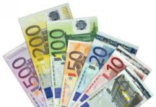 Euro's and Dollars are welcome in Italy