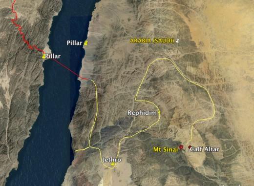 Red Sea Crossing Mt Sinai Arabia