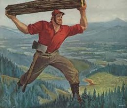 Paul Bunyan was the most-famous lumberjack of all-time