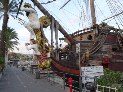 Ship made for Roman Polanski's Pirate Movie