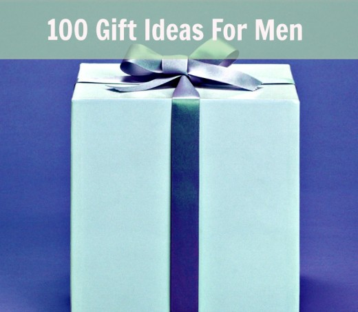 100 Gift Ideas for men ... check them all out below