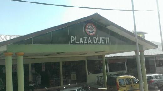 Plaza D'Jeti at Mersing.