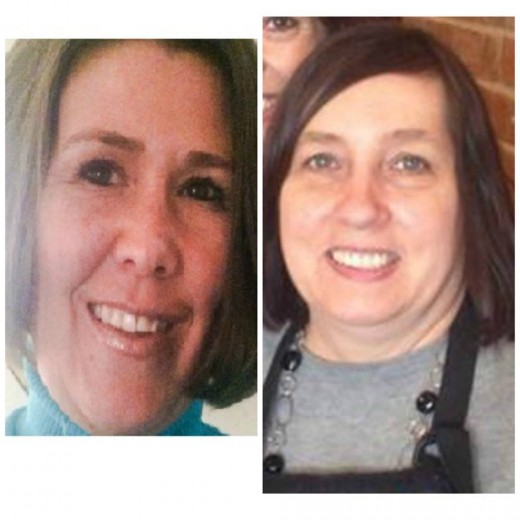 Traci Johnson (right) and Colleen Hufford (left). Traci Johnson survived a near-fatal attack and Colleen Hufford was brutally murdered by Alton Nolen in Moore, OK at the Vaughn processing plant where the three worked.