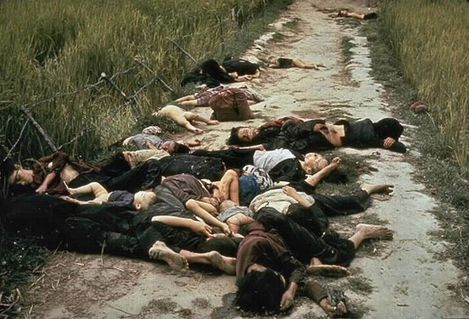 Victims of the My Lai Massacre.