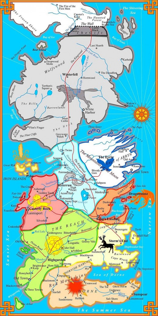 Westeros map - the World map below is the same link