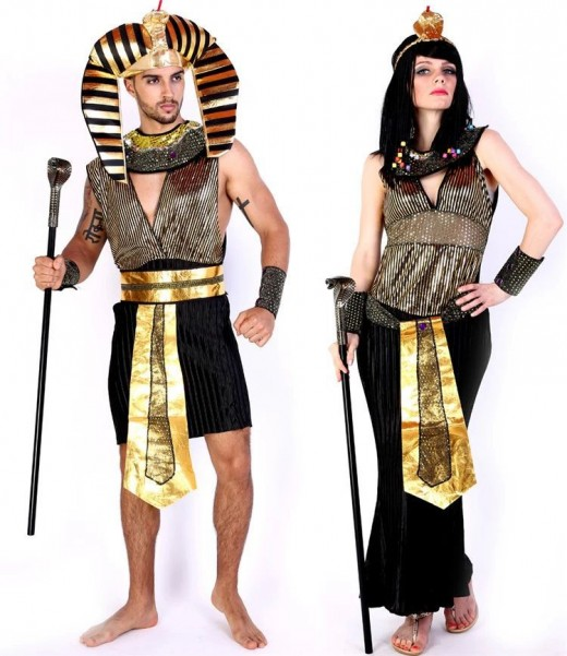 An Egyptian Pharaoh and Cleopatra: This is Inspiring History