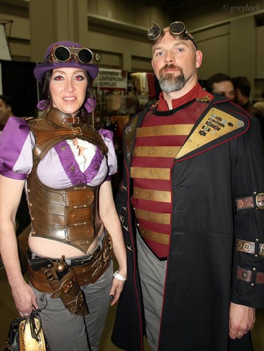 Pair of Steampunkers