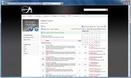 Aadeez Forums using Betamakers Community Application running on Internet Explorer 9.