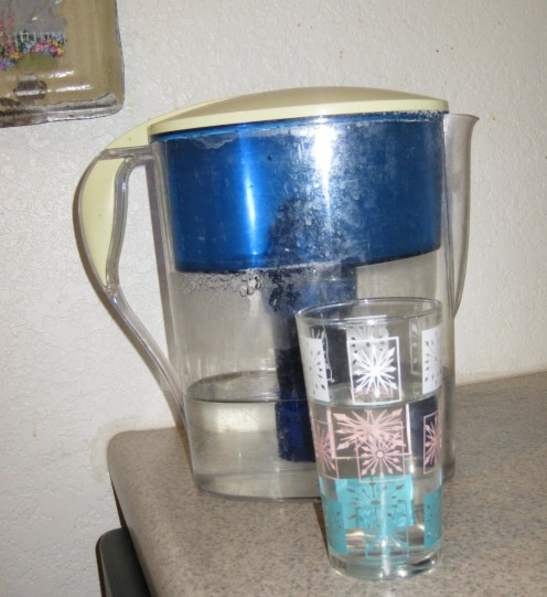 My water filter pitcher.