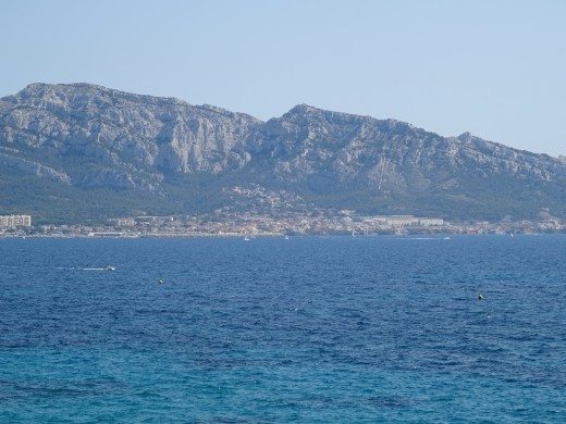 The coast near Nice