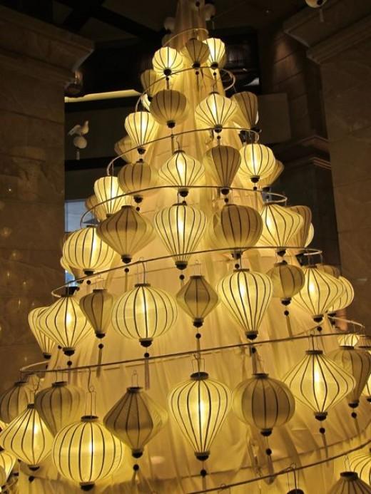 Christmas Tree in Hanoi