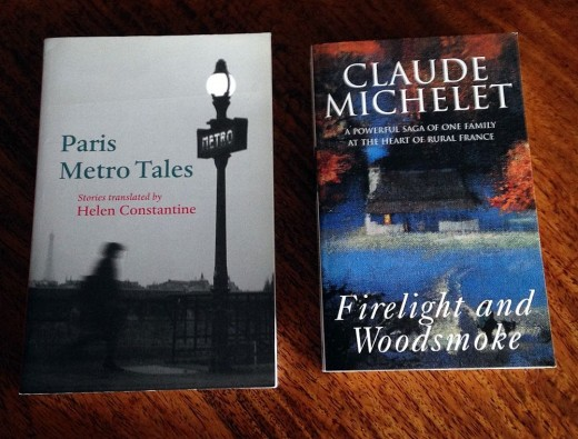 Paris Metro Tales and Firelight and Woodsmoke