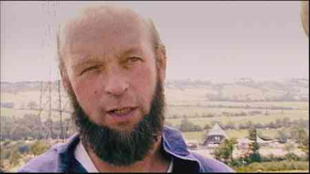 A young Michael Eavis: open, genuine, blazing, out-going as Kerr described him