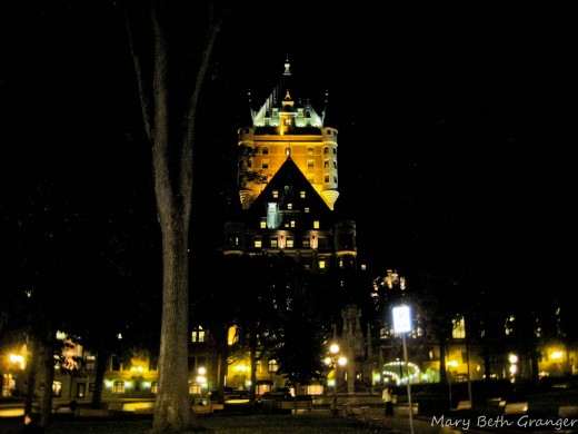 Chateau Frontenac at Night