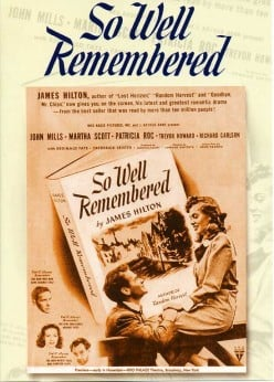 The Books Time Forgot #3: So Well Remembered