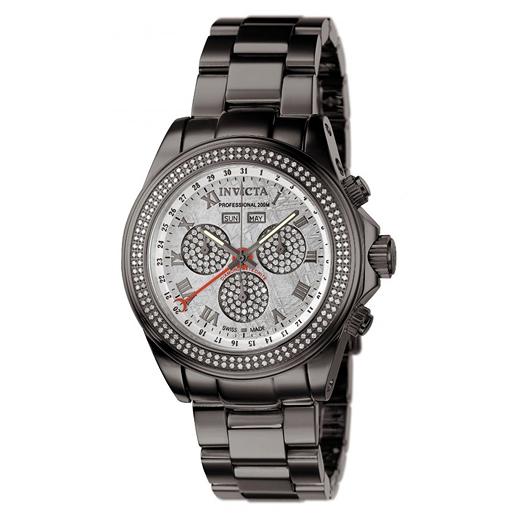 Beautiful Men's Invicta Speedway Meteorite Master Diamond Watch