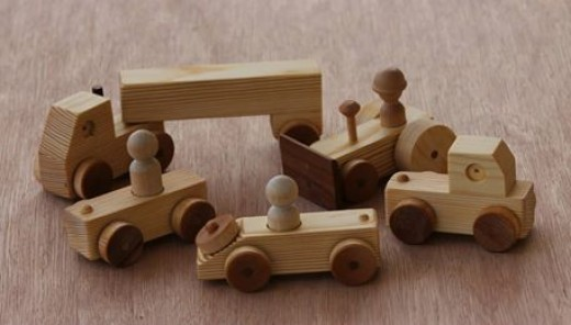 Hand Made Wooden Toys