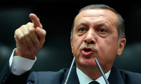 Turkish President Tayyip Erdogan holds out assistance against another Syrian massacre.
