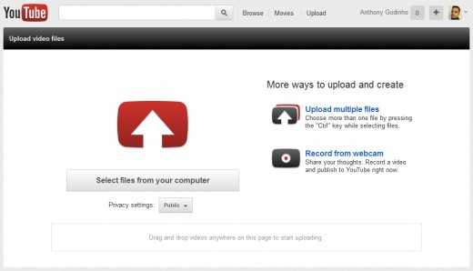 Step 2: Select Video File to Upload