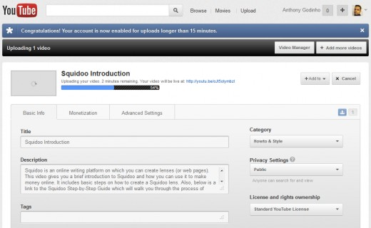Step 4: Complete YouTube Video Title and Description