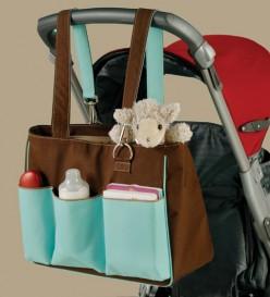 Pacific Diaper stroller bag by Skooch
