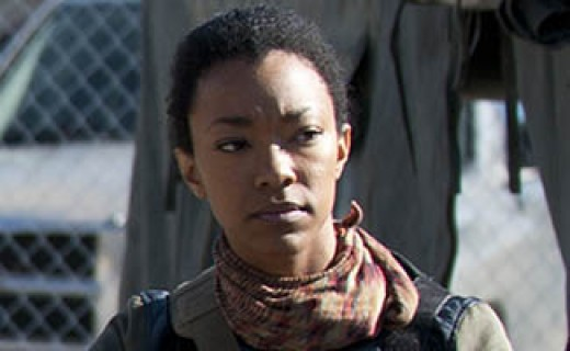 Sasha from The Walking Dead