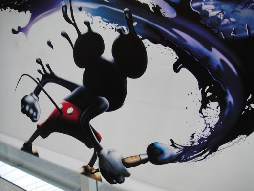2010 Disney Epic Mickey Banner