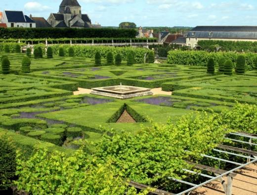 The second ornamental gardens