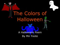 The Colors of Halloween