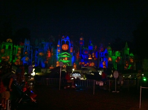 Here is the overlay of It's A Small World.