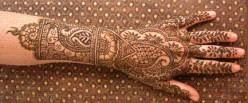 Mehendi Or Henna Tattoos Are Ornament Of Indian Women