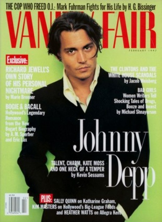 Johnny Depp Vanity Fair
