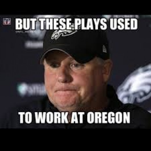 Philadelphia Eagles coach Chip Kelly looking for a little of that old Oregon Magic