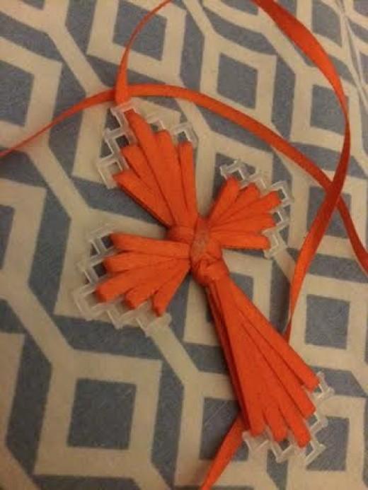 Handmade cross from South Carolina