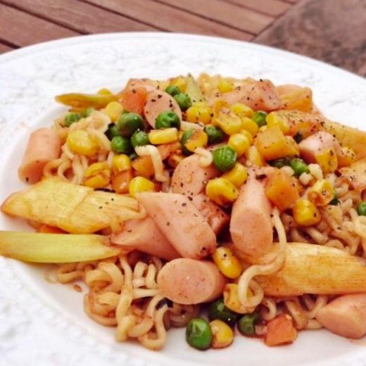 5-Minute Soupless Noodles
