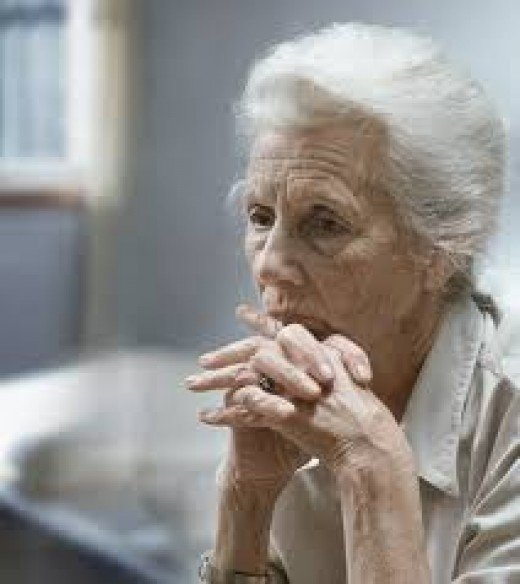 For some, old age is merely a harbinger of their mortality & subsequent death. To them, old age is nothing but decay, decline, degeneration, ......then DEATH. To them, old age is one long prison sentence-af purgatory from which death is a respite.
