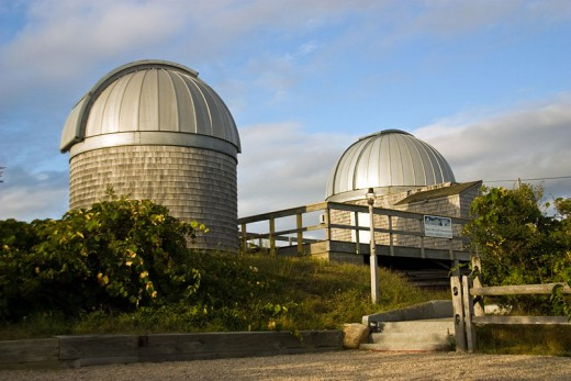 A 2008 photo of the Maria Mitchell Observatory in Nantucket, MA.