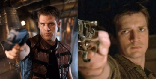 John Crichton and Malcolm Reynolds