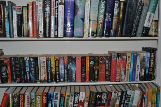 Collect the used books that people are throwing away and sell them as second hand books to bring in some quick cash.