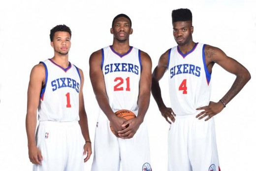 Sixers Big 3: Michael Carter-Williams, Joel Embiid, Nerlens Noel