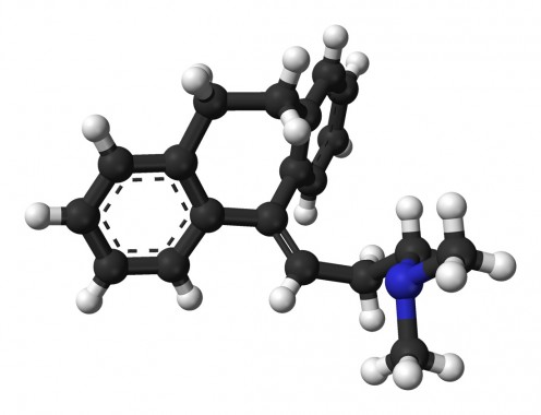 An Amitriptyline molecule