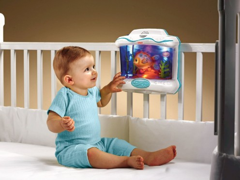 Delight your baby with the Fisher Price crib soother