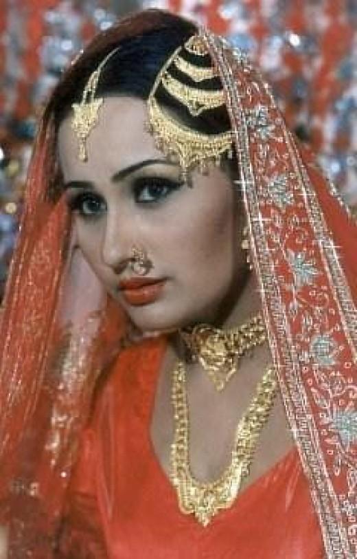 nargis Pakistani bride